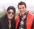 Navi and Steve Jones (US & UK TV Presenter)