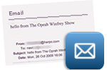 One of the emails Navi received from The Oprah Winfrey Show